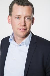Primer plano de Thomas Karlsson, Director General de Element Logic Suecia