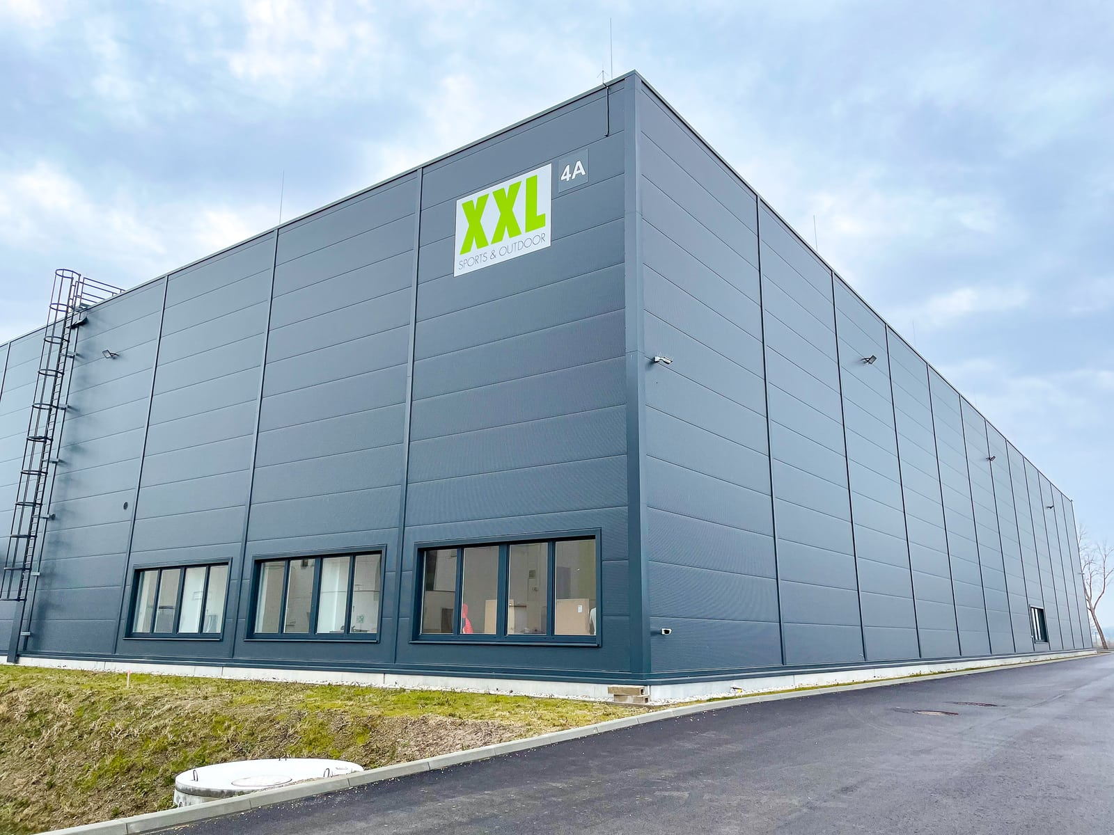 Central Warehouse Austria XXL building from the outside