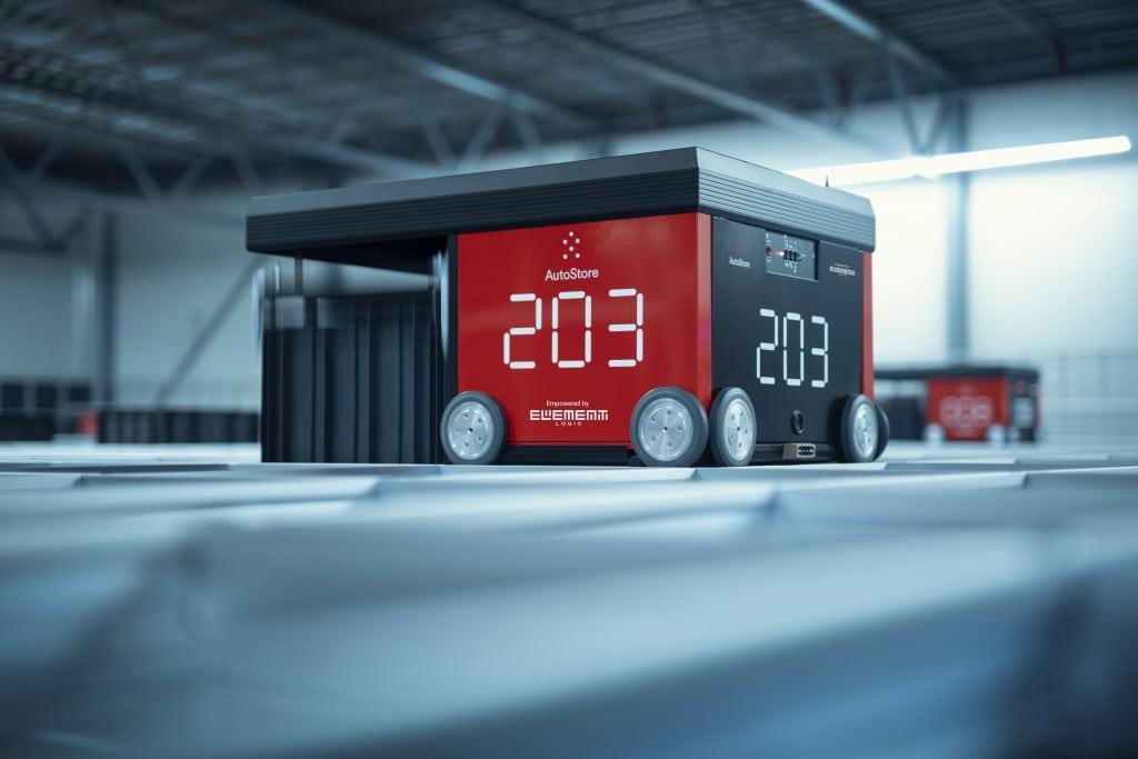Robot AutoStore de Element Logic