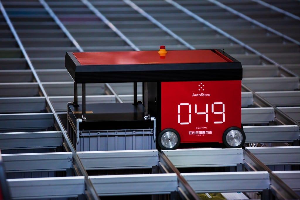 Imagen de detalle de un robot AtutoStore