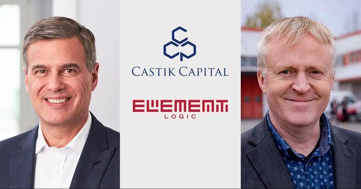 Imagen directivos Castik Capital y logo